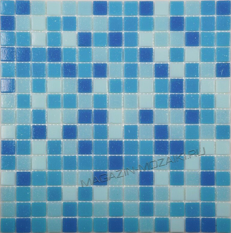 мозаика Aqua 100 стеклянная для бассейна