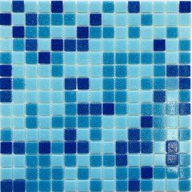 мозаика MOS-24 стеклянная для бассейна