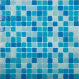 мозаика MIX1 стеклянная для бассейна