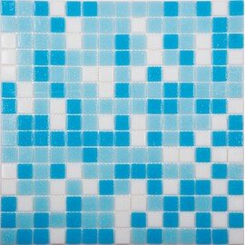 мозаика MIX2 стеклянная для бассейна