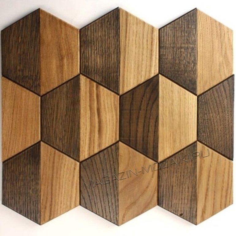 мозаика wood60 деревянная