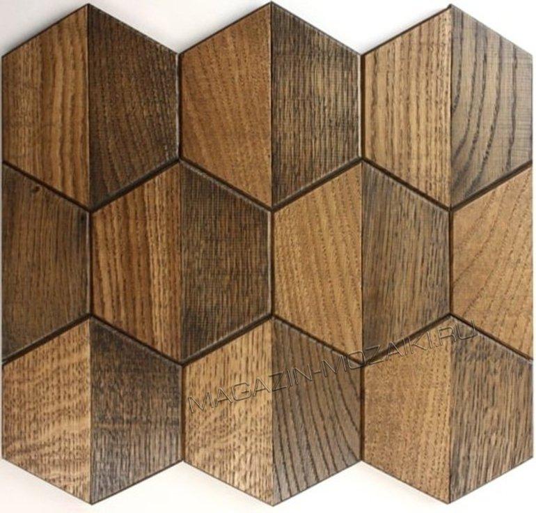 мозаика wood63