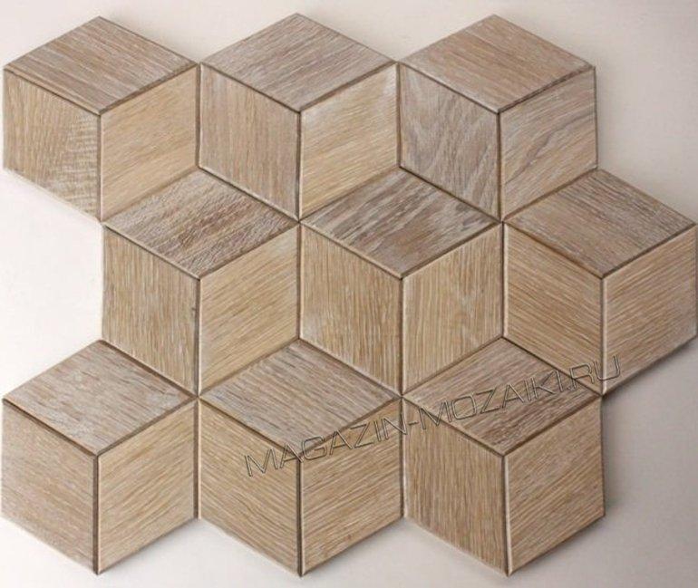 мозаика wood65 деревянная