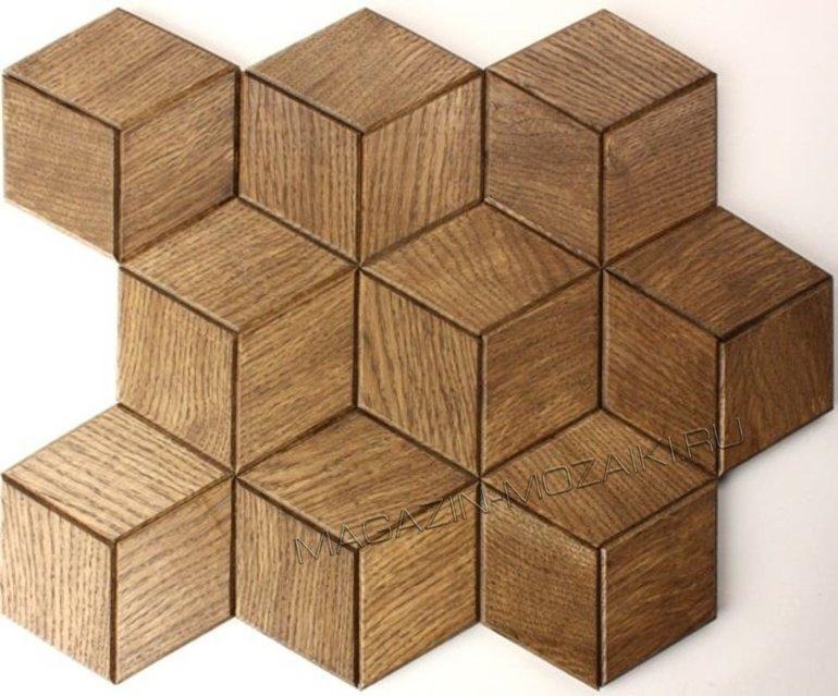 мозаика wood66 деревянная