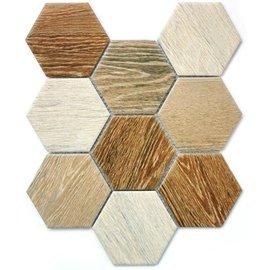 мозаика Wood comb