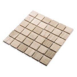 мозаика Travertino Silver MAT 23x23x4 (MN160SMAS)