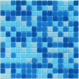 мозаика на сетке для бассейна