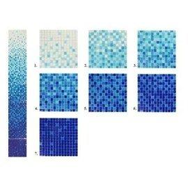 растяжка из мозаики GG007SMA (Т-40) (7pcs.Mesh)