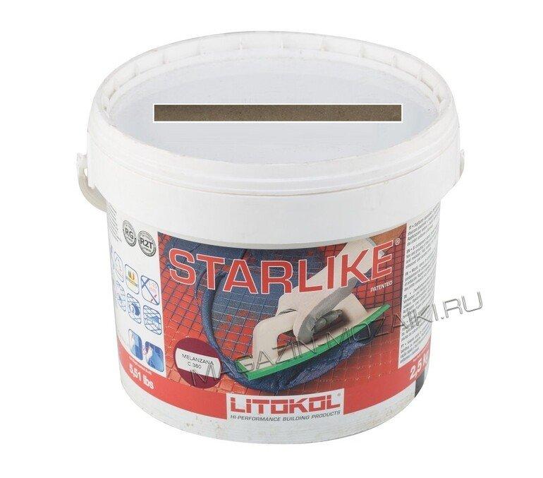 Эпоксидная затирка LITOCHROM STARLIKE С.340 (Нейтральный) 2,5 кг.