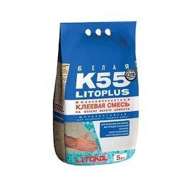 Клей для укладки мозаики LITOPLUS K55 (5кг.)