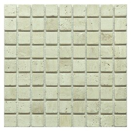 мозаика Travertine Classic tum. 30x30х10 мм.