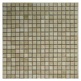 мозаика Botticino pol. 15x15х10 мм.