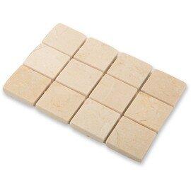 мозаика Crema Marfil pol. 30x30х7 мм.