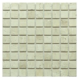 мозаика Travertine Classic tum. 30x30х7 мм.