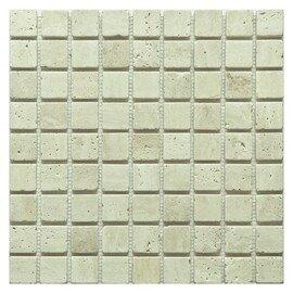мозаика Travertine Classic tum. 30x30х7 мм.