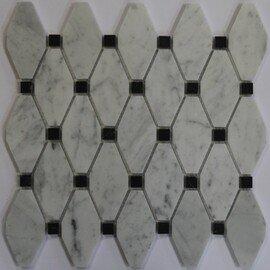 мозаика Romb Carrara
