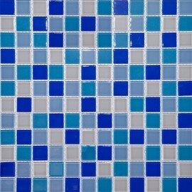 мозаика CH4023PM стеклянная для бассейна