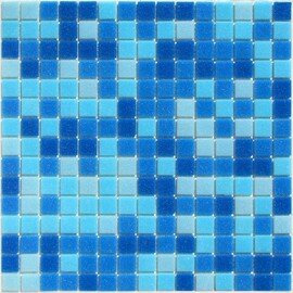 мозаика Aqua 150 стеклянная для бассейна