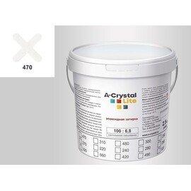 Эпоксидная затирка для швов А-кристал Лайт 470 2.5 КГ