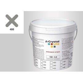 Эпоксидная затирка для швов А-кристал Лайт 480 2.5 КГ
