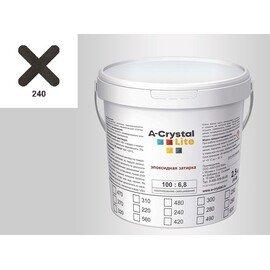 Эпоксидная затирка для швов А-кристал Лайт 240 2.5 КГ