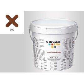 Эпоксидная затирка для швов А-кристал Лайт 300 2.5 КГ