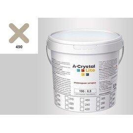 Эпоксидная затирка для швов А-кристал Лайт 490 2.5 КГ