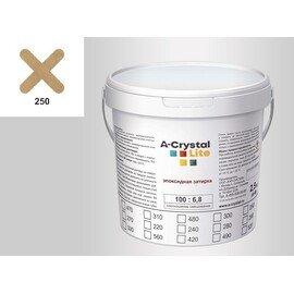 Эпоксидная затирка для швов А-кристал Лайт 250 2.5 КГ