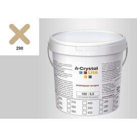 Эпоксидная затирка для швов А-кристал Лайт 290 2.5 КГ