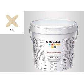 Эпоксидная затирка для швов А-кристал Лайт 520 2.5 КГ