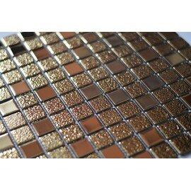 Стеклянная мозаика под золото DG 025-2
