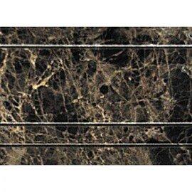 мозаичный бордюр B022-3 (Emperador Dark)