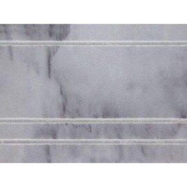 мозаичный бордюр B033-3 (Bardiglio Nuvolato)