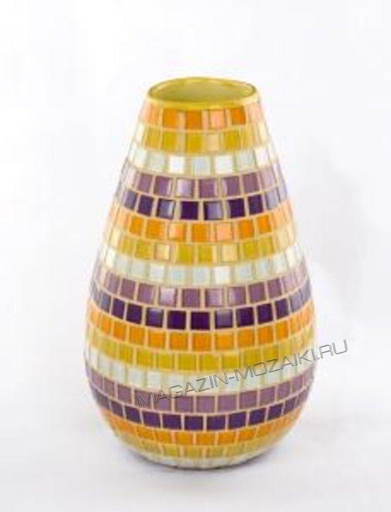 мозаичная ваза Ethnic 002