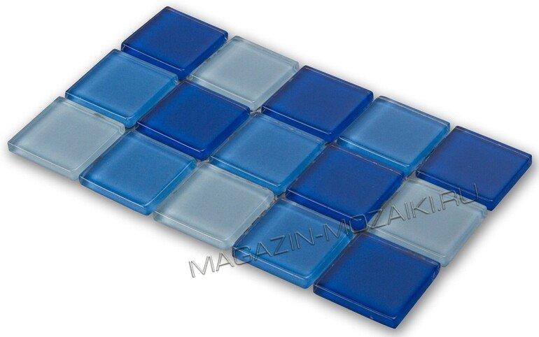 мозаика CPM-13 стеклянная для бассейна