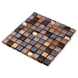 мозаика Crystal brown