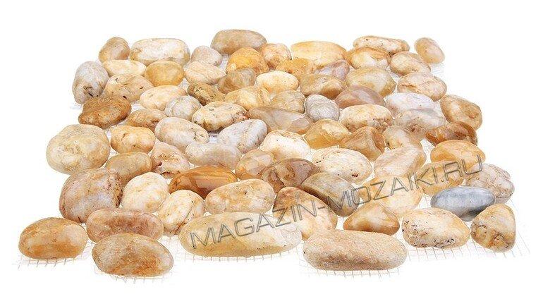 мозаика MS00-6М ГАЛЬКА песочная
