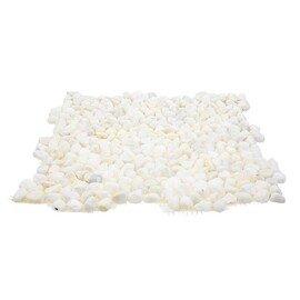 мозаика  MS5005 ГАЛЬКА крупная белая