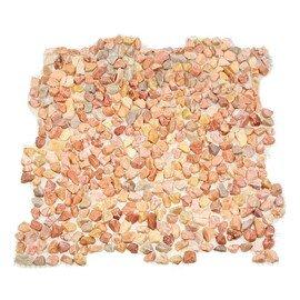 мозаика  MS5010 ГАЛЬКА крупная розовая