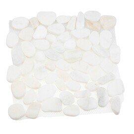мозаика MS7006 BC МРАМОР белый круглый