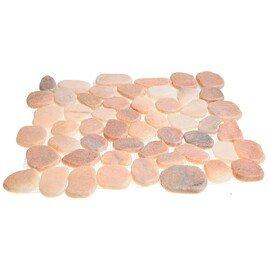 мозаика MS7015S МРАМОР розовый круглый