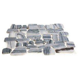 мозаика  MS7019 МРАМОР серый квадратный