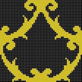 мозаика MZ-08 Black&GMC