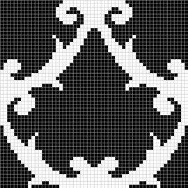 мозаика MZ-08 Black&White