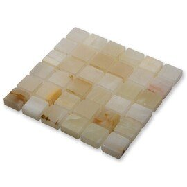 мозаика Onice jade bianco POL 15х15