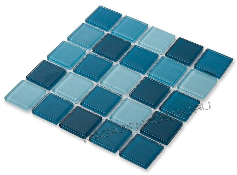 мозаика Sea wave-1 стеклянная для бассейна