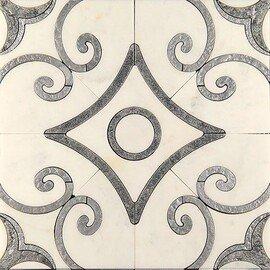напольная плитка-мозаика ACM (W)-4/2