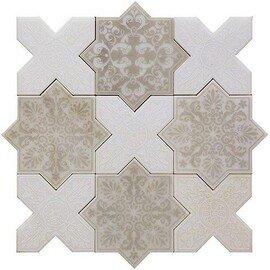 напольная плитка-мозаика PNT (ANTICO-WHITE)