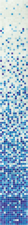 растяжка из мозаики DE109(m)